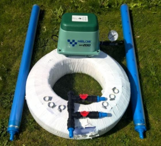 Norres diffuser/ Hiblow lake aeration kit